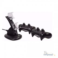 Carregador Duplo Para Controle PlayStation 4 Ps4 Slim Pro - Otvo